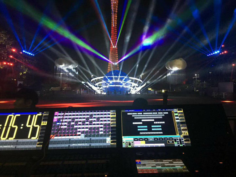 F3 used in Guangzhou International Lighting Festival